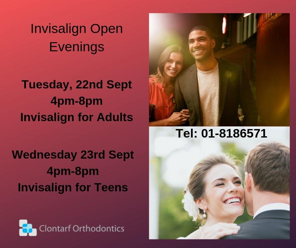 Invisalign Open Evenings